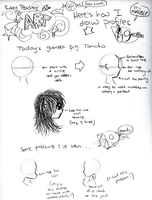Kitty Teaches Profile-Drawing by that-cat