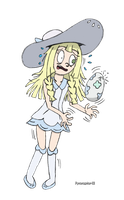 Lillie and her Egg by Pyroraptor42