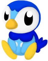 Piplup by Melody-Koopa