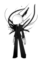 Slenderman by XombieGloomy