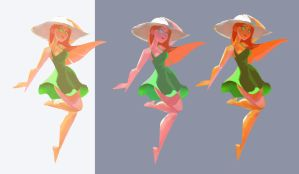 Color and Light Studies WIP 090415 by Gilmec