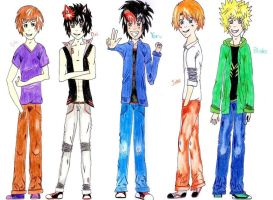 Yoru's Hombre Squad by NightOfMyLife07