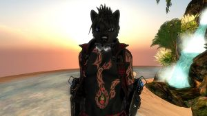 My AV on Second Life by shironranshiin