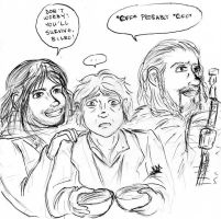 Kili, Bilbo and Fili by Kcie-Aiko