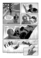 For the fans ENG [Spideypool] 5/7 by RockingTheWorld