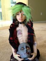[Bjds/Kale and Diesel] The Safekeeper of Heads by invader-hime