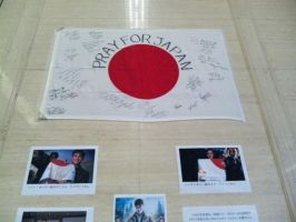 Pray for Japan_from HP member by asami-h