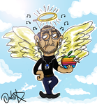 Steve Jobs RiP by daveiscoolyeah