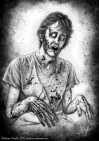 Zombie John Zombified by LordNetsua