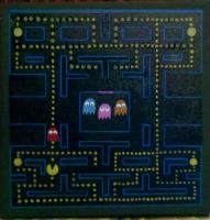 Pacman by paintmeaperfectworld
