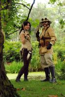 Steampunk couple by LindyvdBosch