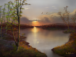 Autumn Morning by Sillybilly60