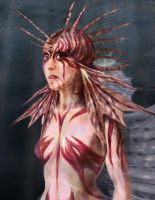 Lionfish Girl by Zazari