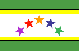 Flag of the Federation of Guiana by Coliop-Kolchovo