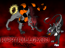 Zzaj and Icii by x-EBee-x