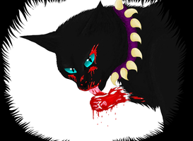 Scourge- I love blood by RainbowKitty13
