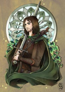 Aragorn, son of Arathorn by Setsunaika