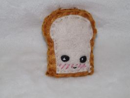 Kawaii Toast Ornament xD by Mishaila