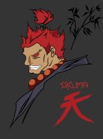 akuma by GabeRios