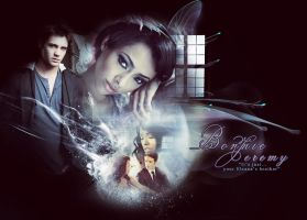 Bonnie and Jeremy The Vampire Diaries by Miss-deviantE