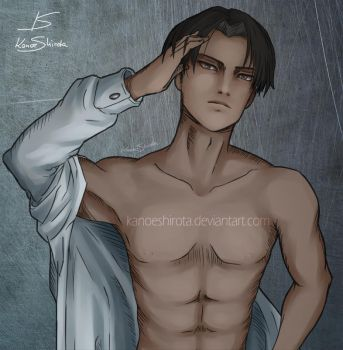 Levi Close up by KanoeShirota
