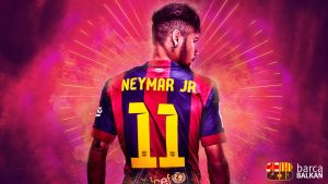 Neymar Jr. - FC Barcelona WALLPAPER HD by SelvedinFCB