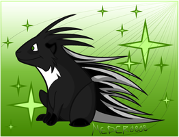 Porcupine Color by KM-cowgirl