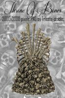 Throne Of Bones 4 by Trisste-stocks