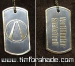 Borderlands dog tag with your nick by TimforShade