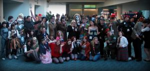 Silly Dr Who group pic by AuberyMirkwood