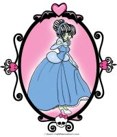 MH: Frankie as Cinderella by I-heart-Link