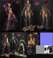 WitchBlade3D by 3DNeksus
