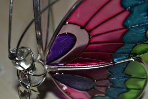 Butterfly candle holder by AardbeiElfje