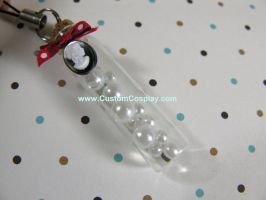 Pearl vial charm by The-Cute-Storm