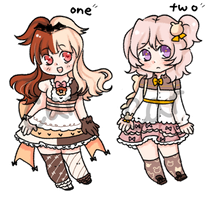 small adopt set CLOSED by carcarchu