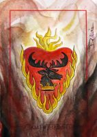 House Baratheon(Stannis) by DavidDeb