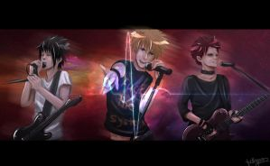 Naruto's RockBand: Resistance. by pollypwnz
