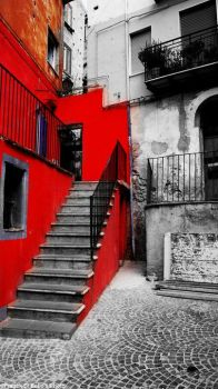 Doesen't matter if you're red by FrancescoDiBello