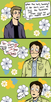 Sam, your gay is showing by wayward-cassbutt