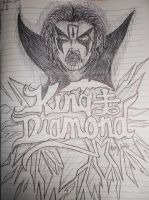 King Diamond - Broken Glass by SephirothMichaelis