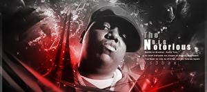 Notorious B.I.G. by xs3bax