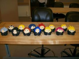 Chibi Organization XIII by silent-assassin-XIII