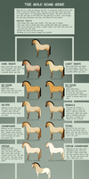 The Gold Roan Gene by Cat-Orb-Shop