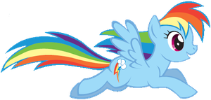 MLP: Rainbow Dash Image by SweetCandace