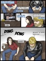 Marvel and Me pg 1 of 3 by CVDart1990