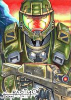 HALO Master Chief  PSC by joraz007