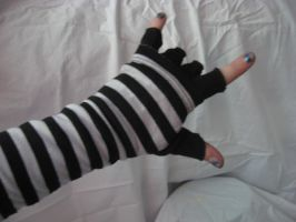 Striped Glove IV by misfit-t0y-st0ck