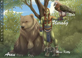 A bloodmages' family by SBloodwing