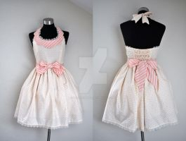 Scallop Halter Lolita Dress by laurabububun