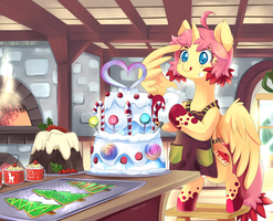 Secret Santa Gift 2012: KiokuLovesCheesecake by Ende26